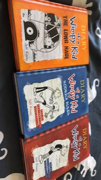 two Diary of a Wimpy Kid books Meridian, 83642