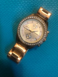 Rose Gold Fossil Watch Lancaster, 17603