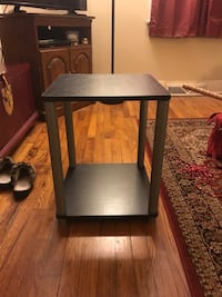 Black square side table Columbia, 29205