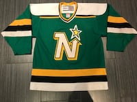 green, white, yellow and black ice hockey jersey Toronto, M6B 1C9