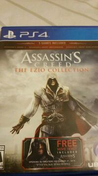 Sony PS4 Assassin's Creed The Ezio Collection