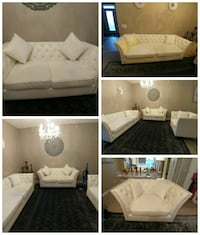white couch set