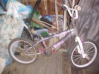 purple and white BMX bike WASHINGTON