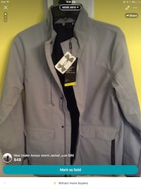 New Under Amour storm Jacket ,size S/M Derwood, 20855