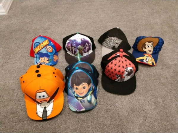 Kids and adults new hats toy story snow white plan