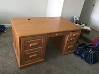 Large desk storage for computer and file drawer, great condition too large for room, open for barter  Clovis, 93612