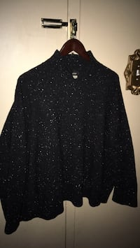 Eskandar women's black and white sweater has high neck bought at Neiman Marcus only worn a few times Oakville, L6K 1Y8