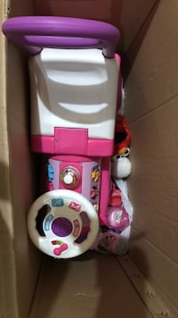 white and pink Fisher-Price potty trainer Elmendorf, 78112