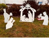 Wooden Nativity Scene.... handmade ... used only Last year. Dartmouth, B2V 1Y8
