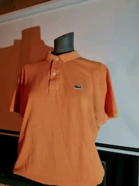 Orange Lacoste Shirt (Small) Slim Fit  Mississauga, L5M 0B4