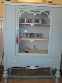 ANTIQUE Walnut Cabinet~RESTYLED! Whitchurch-Stouffville