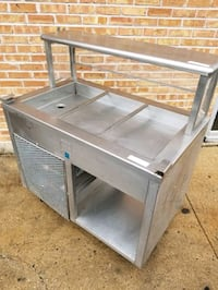Refrigerated Cold Table Prep Table Cooler