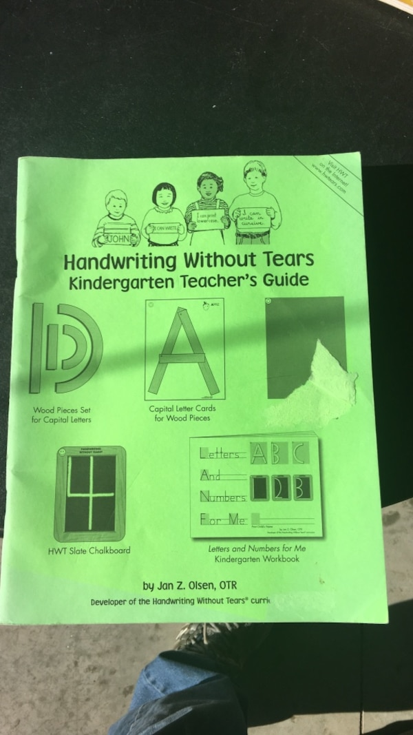 Used Handwriting Without Tears book for sale in Athens - letgo