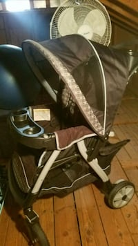 black and gray jogging stroller Rockville, 20851