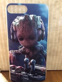 Guardians of the Galaxy Baby Groot iPhone 7 Plus 8 Plus hard plastic snap on case Independence, 97351