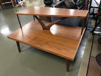 2 Tier Mid Century Coffee Table, Accent Table Orlando, 32827