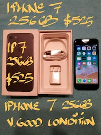 Trade or Firm $525 BL IPHONE 7 256GB+Charger10/10 Pointe-Claire, H9R 1N9