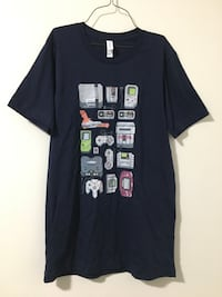Retro Game Consoles Shirt (Small) *New* 2288 mi