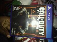 Sony PS4 Call of Duty Black Ops III game case Haltom City, 76117