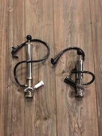 2 keg pump taps, steel, never used! 2/$150.00, obo!