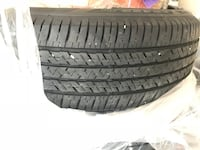 Two 90% new tires