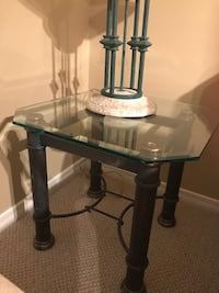 Glass and metal 3 coffee tables Bolton, L7E 2Y8