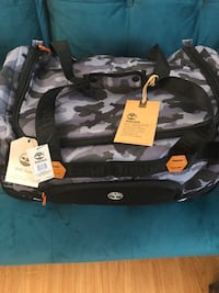 Timberland waterproof duffle luggage 22. Original price $260