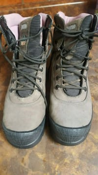 Pair of safety  boots  London
