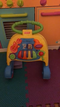 yellow, blue, and green Fisher Price activity walker Pomona, 91766