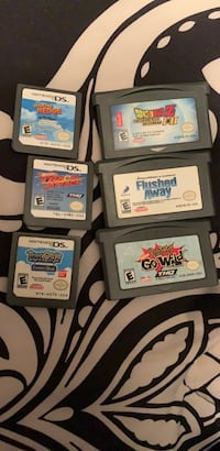 Lot of ds sp games 77 km