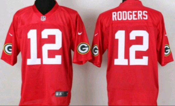 05a6b9c18634 Used Packers  12 Rodgers mens xl Jersey for sale in Milwaukee - letgo