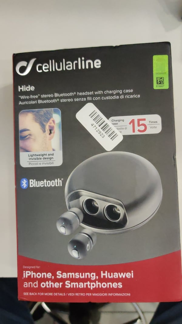 Cellularline Hide Bluetooth kulaklık b4ba7a68-d574-4b91-a4a4-b87fcc009772