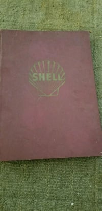 Used Bound Book Of Vintage Us Shell Oil Road Maps For Sale In - Us-road-maps-for-sale