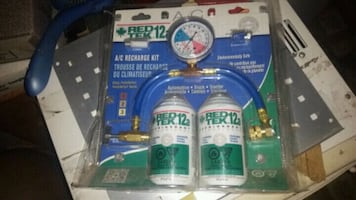 AIR COND REFILL for car.  New