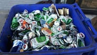 i pick up free beer cans donated to Toronto humane society Toronto