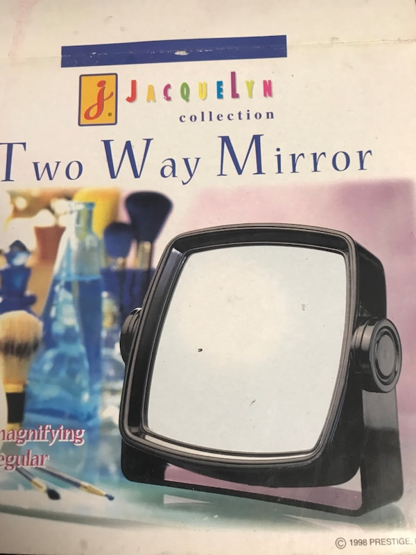 Used Black Jacquelyn Collection Two Way Mirror Box For Sale In San
