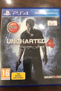 Uncharted 4 ps4 oyun Pamukkale, 20260