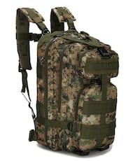 Brand new jungle green tactical backpack