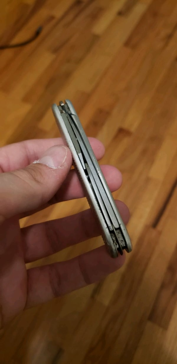 Swiss army knife, little stiff. $20 obo 9eadd3bf-9b7c-417d-98e7-53307f395d94