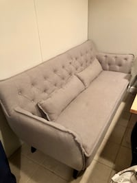 Sofa sofi tufted grey couch Ashburn, 20147