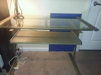 mint condition and glass desk Boiling Springs, 29316