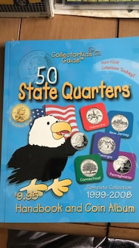 Kids collector book (state quarters)  North Haven, 06473