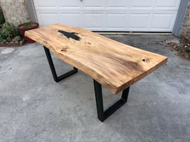 Live Edge Tables, Coffee Tables Vanities, and TV Stands