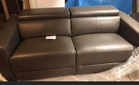 2 leather couches  Georgina, L4P 3E9