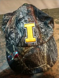 Iowa Hawkeyes camo ball cap