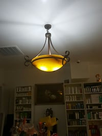 black and yellow pendant lamp Lexington, 27292