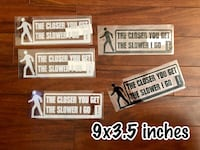 3 for $10 Car Decals Mix and Match Edmonton, T5P 4W3