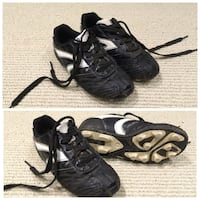 Outdoor Soccer/Baseball (cleats) - size 1    | EUC with triple-track soles     Ajax, L1T