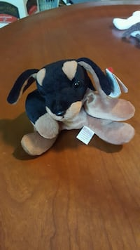Toby the Doberman Ty Beanie Baby - RARE Washington, 20012