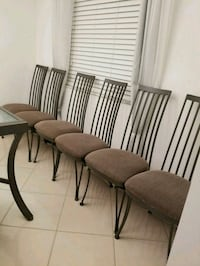 6 chairs Delray Beach, 33484